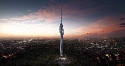 أعلن رئيس الوزراء التركي، بن علي يلدريم، اليوم السبت، أنه سيتم افتتاح برج