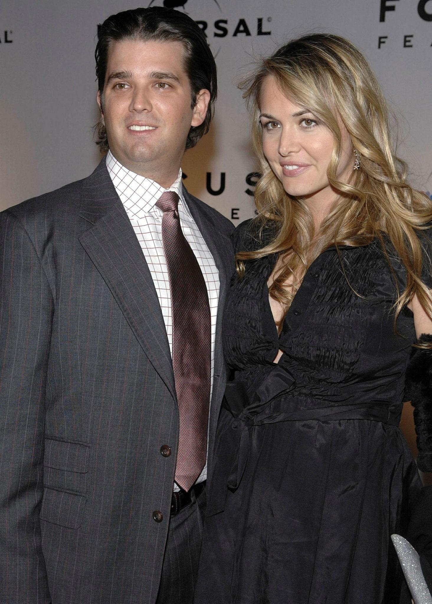 Donald Trump Jr. and his spouse Vanessa Trump