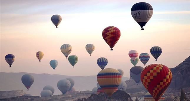 Hot air balloons from 20 countries to fly in Cappadocia