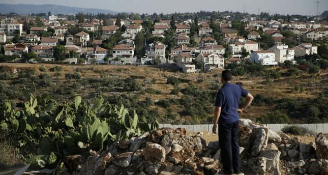 The Israeli settlement of Hashmonaim, west of Ramallah, in the Israeli-occupied West Bank.