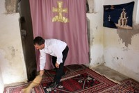 For a few days every week, Metin Halıcı grabs a broom and dust cloth and heads to a small stone building resembling more of a shed than a place of worship, just in the courtyard of his...