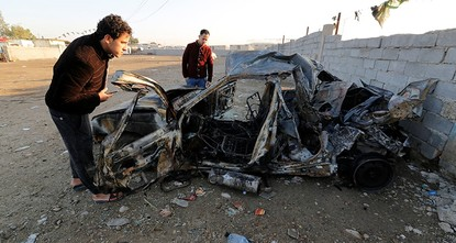 pA car packed with explosives blew up on Thursday in southern Baghdad, killing at least 39 people and wounding about 20, security and medical sources said.br /