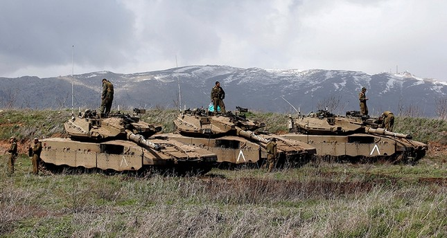 جنود إسرائيليون في الجولان (رويترز)