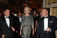 Die berühmte australische Oscar-Schauspielerin Nicole Kidman nahm an der Eröffnungszeremonie eines Hotels im beliebten Ferienort Bodrum in der südtürkischen Provinz Muğla teil.