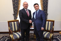 Foreign Affairs Minister Mevlüt Çavuşoğlu said that they want their citizens to reach Ukraine without their passports and visas at a joint press conference with his Ukrainian counterpart Pavlo...
