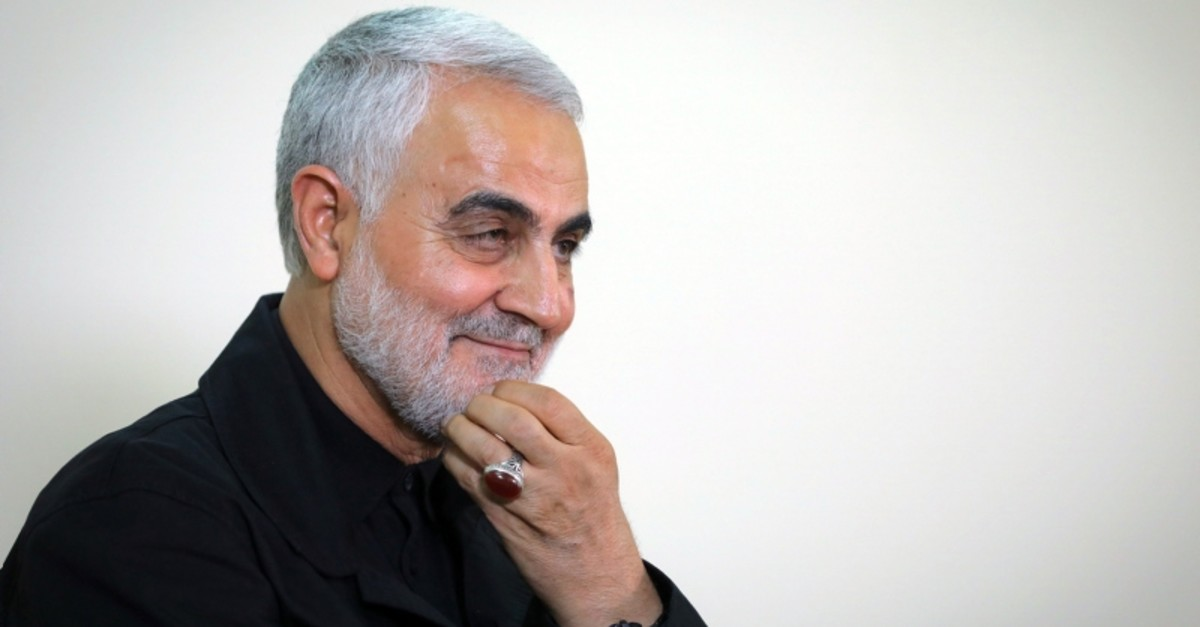 A file handout photo taken on October 01, 2019 shows Qasem Soleimani, Iranian Revolutionary Guards Corps (IRGC) Major General and commander of the Quds Force. (AFP Photo)