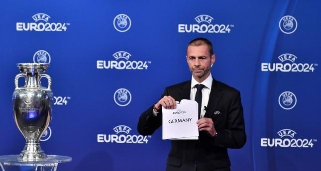 ألمانيا تفوز باستضافة بطولة أمم أوروبا لكرة القدم يورو 2024 على حساب تركيا