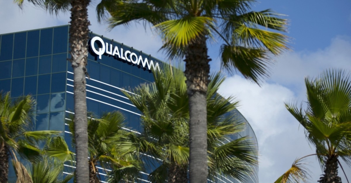 One of many Qualcomm buildings is shown in San Diego, California November 3, 2015. (Reuters Photo)