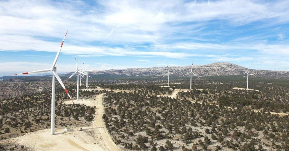Turkey currently enjoys more than 7,600 megawatts (MW) of electricity generation capacity in wind power. (?HA Photo)