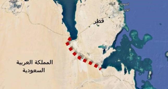 السعودية تشرع في حفر قناة مائية تحول قطر إلى جزيرة