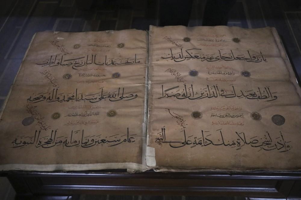 The Rau015fit Efendi Library holds many rare manuscripts.