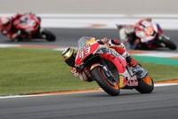 Marquez wins MotoGP season ender in Valencia
