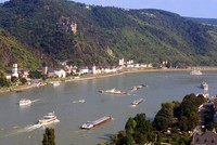 Decreasing water levels significantly affect Europe's main waterway Rhine