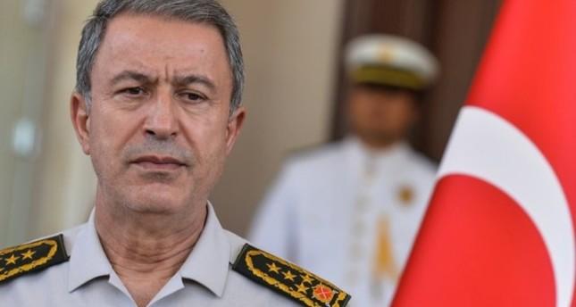رئيس الأركان التركي يطالب نظيره الأمريكي بدعم إعادة غولن