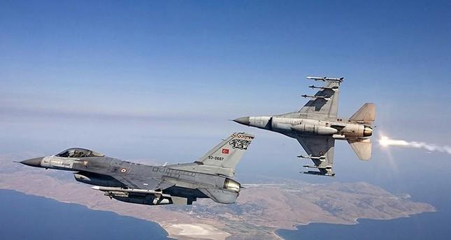 مقاتلات تركية تدمر مواقع للعمال الكردستاني الإرهابي شمال العراق