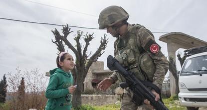 حرر الجيشان التركي والسوري الحر، الأربعاء، 3 قرى جديدة في عفرين السورية من الإرهابيين ضمن عملية