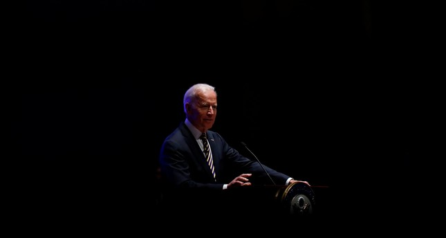 Former U.S. Vice President Joe Biden speaks during the House Democrats retreat on Capitol Hill in Washington, U.S. February 7, 2018. (REUTERS Photo)