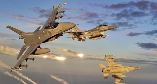 مقاتلات تركية تقصف 12 موقعًا لـداعش شمالي سوريا