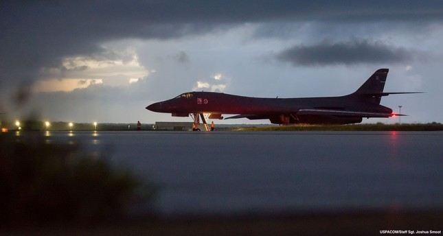 US bombers fly in airspace east of North Korea