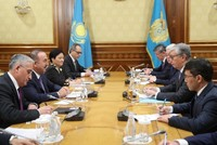 Nazarbayev made honorary head of Turkic Council