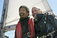 Blind Japanese sailor successfully completes non-stop Pacific crossing