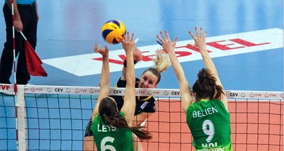 Bursa to take on Olympiacos in CEV Challenge Cup final