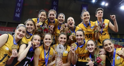 Women's volleyball: Vakıfbank in high spirits, aims to defend world title