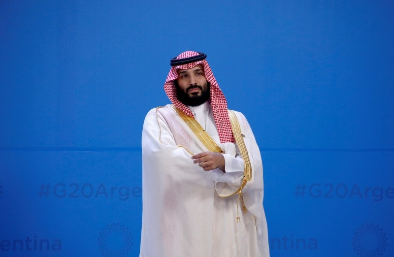 FILE PHOTO: Saudi Arabia's Crown Prince Mohammed bin Salman waits for the family photo during the G20 summit in Buenos Aires, Argentina November 30, 2018. (Reuters Photo)
