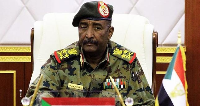 عبد الفتاح البرهان رئيس المجلس العسكري الحاكم في السودان