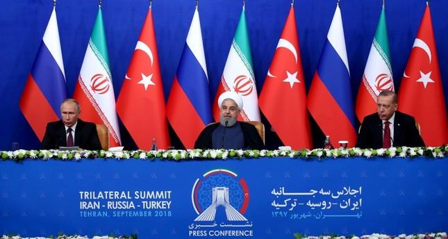 بيان قمة طهران: ملتزمون بمعالجة الوضع في إدلب بروح التعاون في أستانة