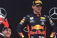 Verstappen looms large in Hamilton's rearview mirror