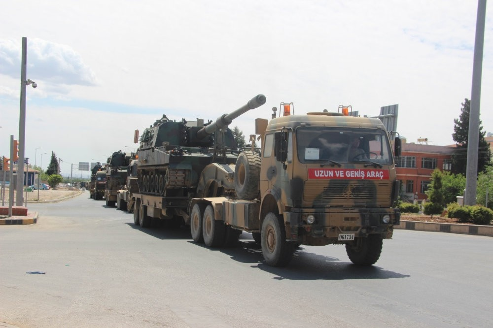 The Turkish military increased its presence in the border city of Kilis, near Afrin province in Syria.