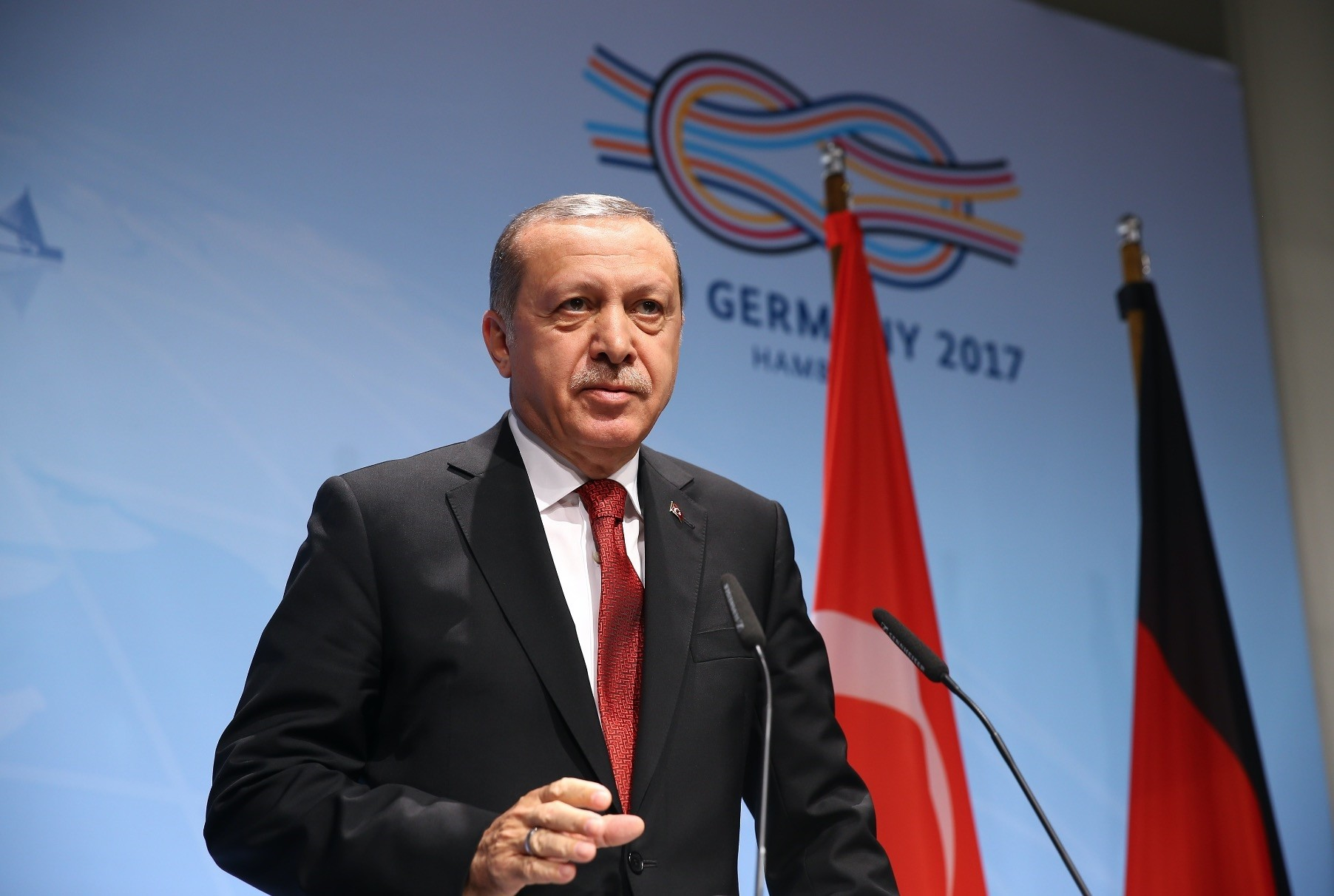 Erdou011fan said, as part of its humanitarian efforts in Africa, Turkey will continue work in Somalia, despite repeated threats from terrorist groups.