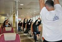 عبّارات إسطنبول تطلق برنامجاً رياضياً تجريباً لركابها