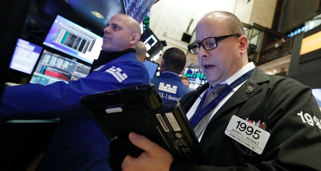 Traders work on the floor of the New York Stock Exchange (NYSE), Jan. 9, 2019.