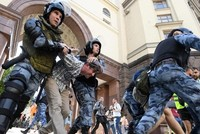 Mehr als 300 Festnahmen bei Demonstration in Moskau