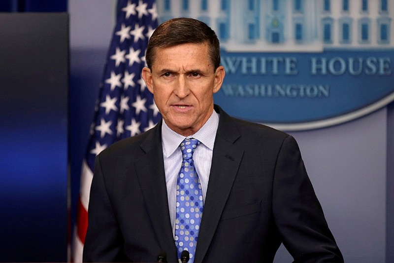 White House National Security Advisor Michael Flynn speaks at the White House in Washington, U.S. on Feb. 1, 2017. (Reuters Photo)