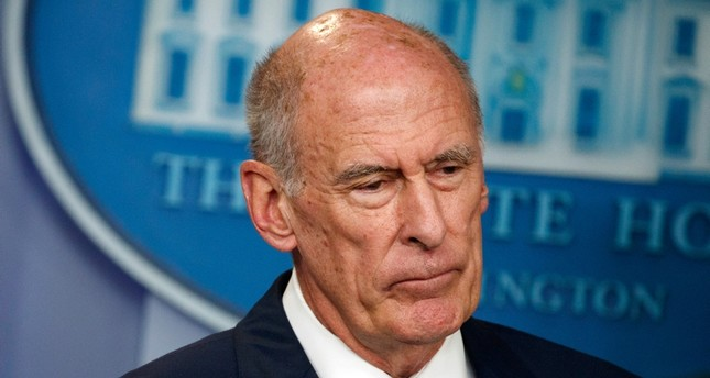 In this Aug. 2, 2018, file photo, Director of National Intelligence Dan Coats listens during a daily press briefing at the White House in Washington. (AP Photo)
