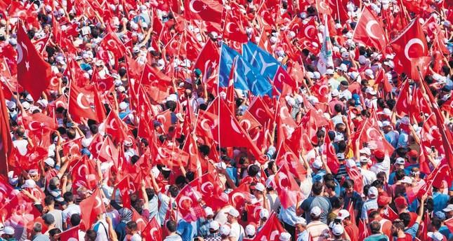 We were all in Yenikapı on Sunday