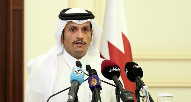 وزير الخارجية القطري: مستعدون لحوار غير مشروط لا ينتهك سيادتنا