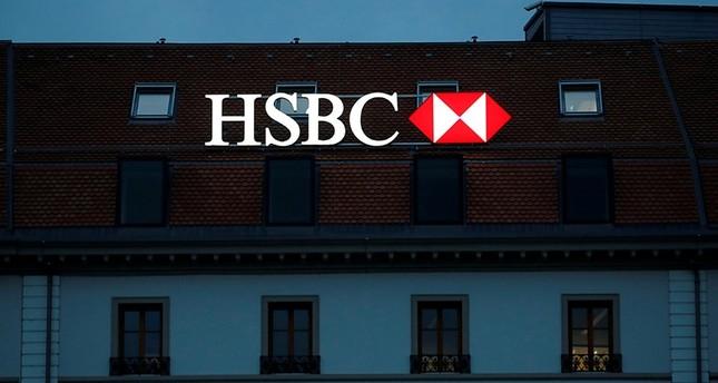HSBC bank is pictured in Geneva, Switzerland, November 8, 2017. (Reuters Photo)
