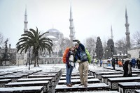 Let it snow! Flakes grace Istanbul's scenery
