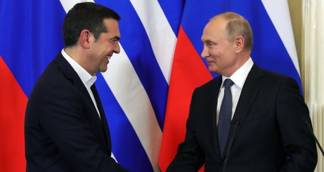 بوتين يلمح إلى احتمالية ضم اليونان إلى مشروع السيل التركي