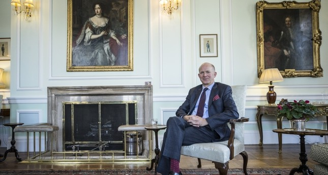U.K. ambassador to Ankara, Dominick Chilcott (AA Photo)