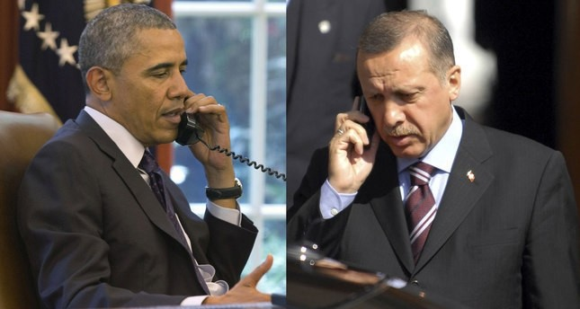 أردوغان لأوباما: الإرهاب لا يمكن أن يكون له صلة بالإسلام دين السلام