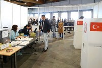 Overseas voting process ends with record participation