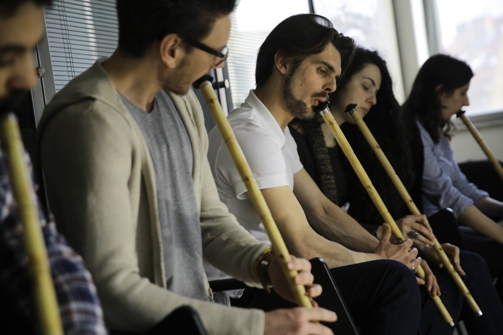 Bosnians are mostly interested in ney, ornamentation and calligraphy courses offerd by Yunus Emre Institute in Sarajevo; however, newly opened ney courses have attracted attention much more than expected. Number of participants increases every day.