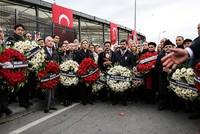 Consul generals visit site of terror attack in Istanbul