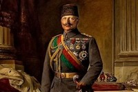 Painting of Kaiser Wilhelm II made for Sultan Reşad stateless for 101 years