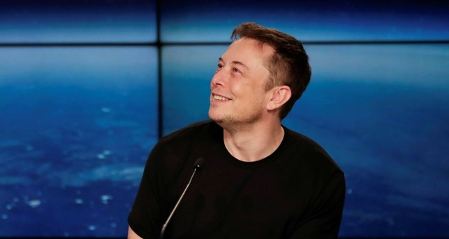 In this Feb. 6, 2018, file photo, Elon Musk, founder, CEO, and lead designer of SpaceX, speaks at a news conference after the Falcon 9 SpaceX heavy rocket launched successfully from the Kennedy Space Center in Cape Canaveral, Fla. (AP Photo)